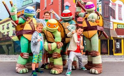 Teenage Mutant Ninja Turtles – License to Drive